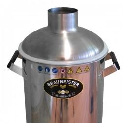 Rostfri huva till Braumeister 10 L