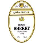Etikett Lyx FC Sherry