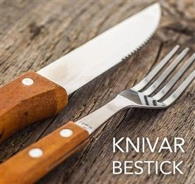 Knivar och bestick